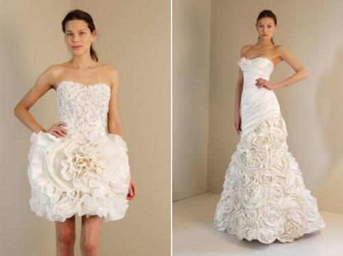 vestidos de noivas modernos 2011
