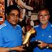Eusabio at adidas stand WSDE
