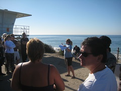 Underwater Cleanup Briefing at Leo Carrillo St...