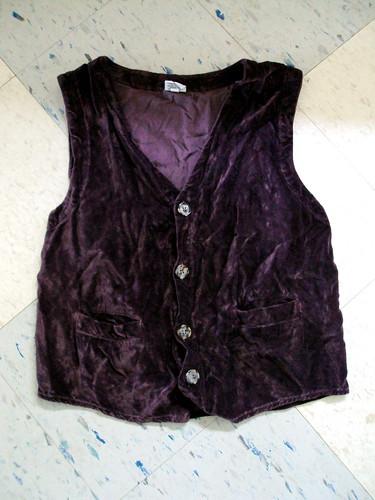Crushed Velvet Vest