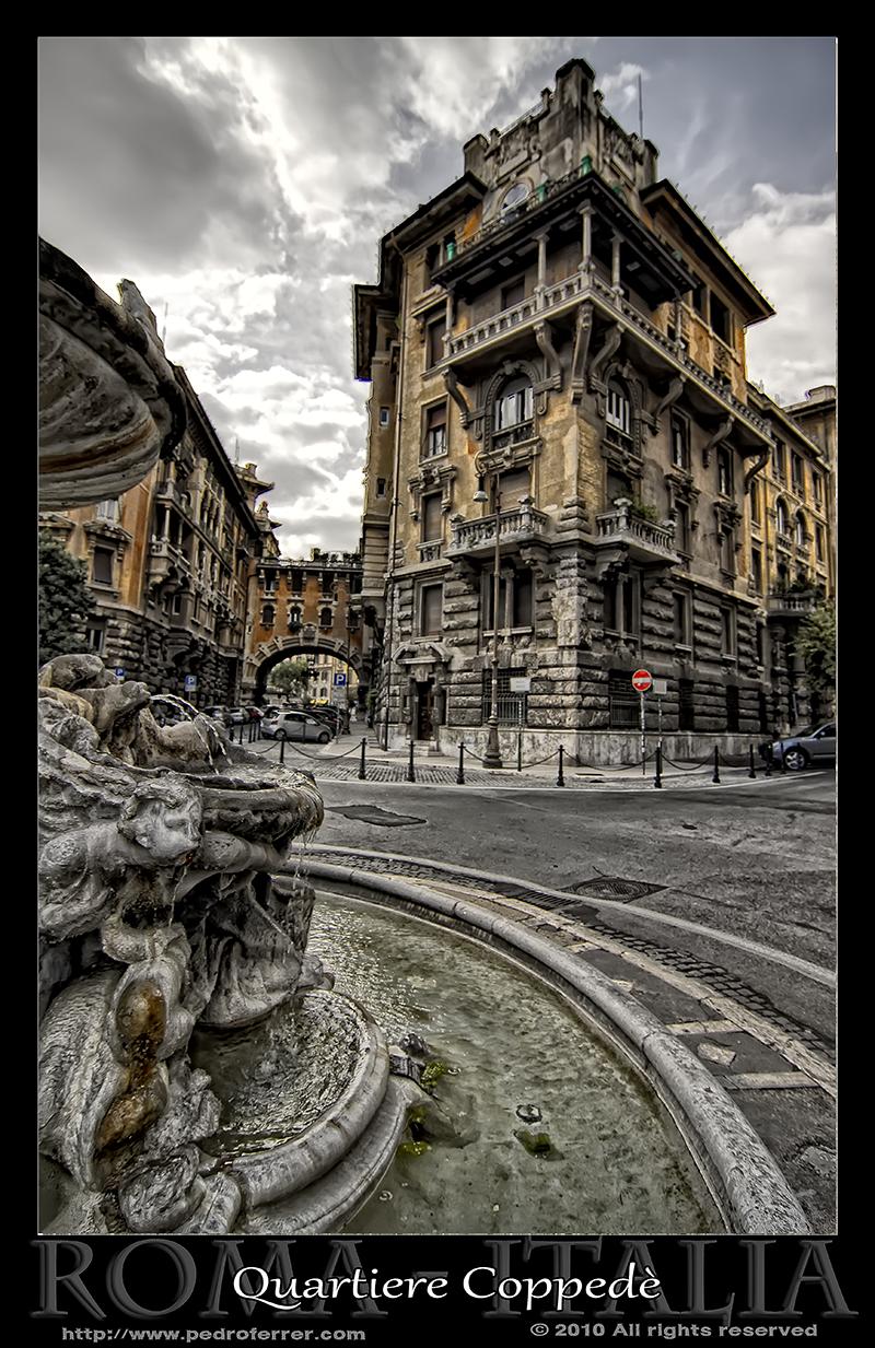 Roma - Quartiere Coppedè