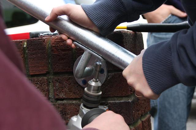 Residential Handrail Installation