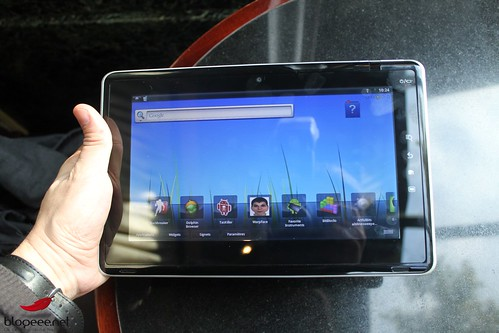 android market sur tablette toshiba folio 100