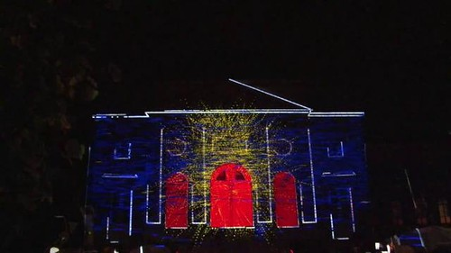 Projection mapping with Philipp Geist and Barco on Vimeo by Philipp Geist | Videogeist