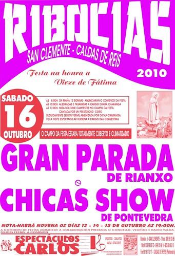 Caldas de Reis - Ribocias 2010 - cartel