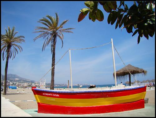 Barca Bandera Española