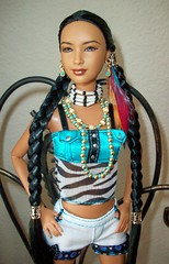 Spirit  of  the  Sky  barbie (napudollworld) Tags: sky beautiful very native spirit barbie american limited edition rare mattel