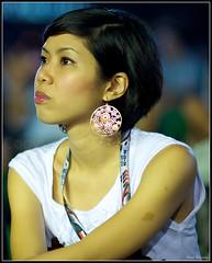 """Pretty"" Singapore (September 2010) (Kommie) Tags: woman girl night asian dc nikon singapore bokeh f1 nikkor 135mm f2d d700"