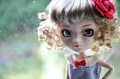 愛 Sweet Like Candie 愛 (★ Sophia Vanille ★) Tags: red rose doll candy wig kawaii groove pullip sailor candie japanesedoll shinku junplanning