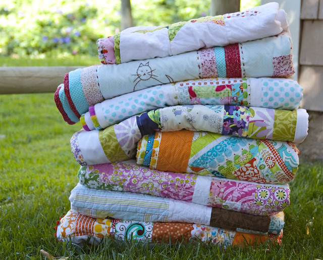 My quilt stack