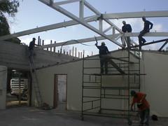 בית ארטנס בבניה