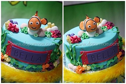 Nemo Bday Cake - Bella's Bday