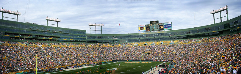 Green Bay Packers versus Buffalo Bills