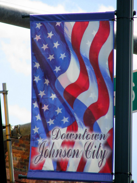 Downtown Johnson City banner