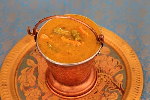 Huli/ South Indian Dal With Vegetables