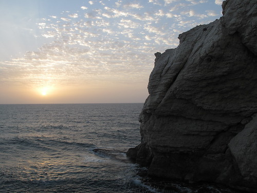 Rosh Hanikra sunset
