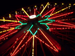 Ferris Wheel (chicalookate) Tags: night amusement