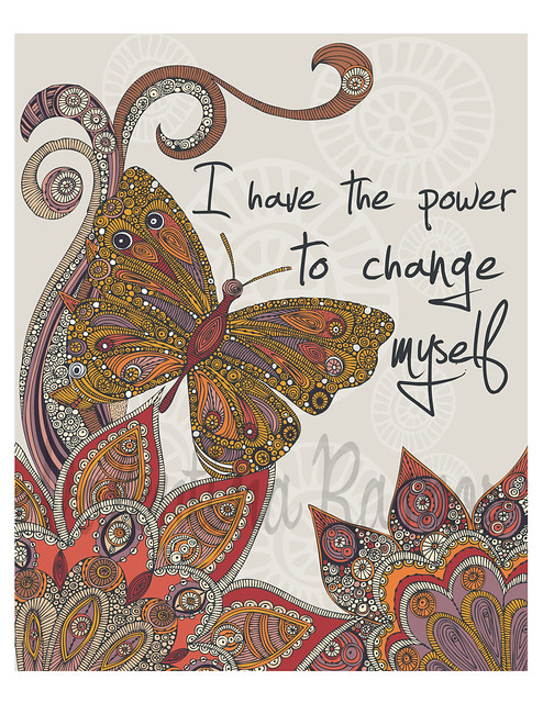 I have the power to change myself