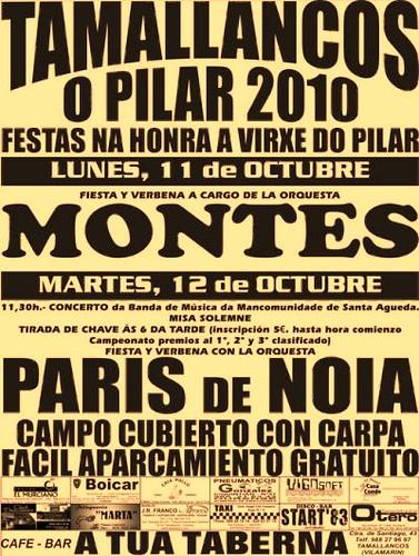 Vilamarín - Tamallancos 2010 - cartel