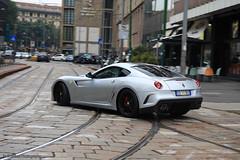 Ferrari 599 GTO (Raul Salinas) Tags: road red black car canon silver photography eos grey grigio interior milano ferrari salinas exotic silverstone raul 17 gto rims limited edition 85 exclusive supercar 599 40d autogespot