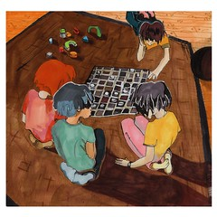 Games and Toys (el sutton) Tags: school girls game home boys illustration toys play young learning letraset promarker