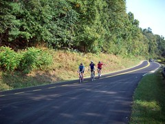 cycling the Parkway (by: My Irregular Adventures, creative commons license)