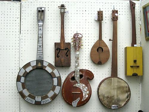 Western Reserve Academy 2010: Handmade string instruments.