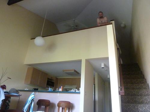 The loft of our condo in Kauai