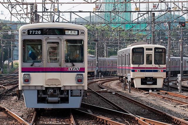 京王電鉄7000系7026F 出場試運転 – 2010年10月15日