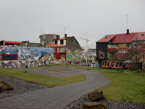 Reykjavik graffiti