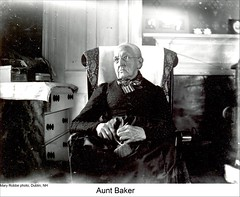"""Aunt Baker"" of Dublin New Hampshire (Keene and Cheshire County (NH) Historical Photos) Tags: woman knitting oldwoman elderlywoman dublinnh dublinnewhampshire auntbaker maryerobbe"