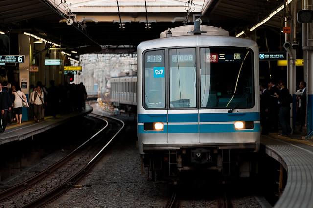 東京メトロ東西線05系05-108F 現役時代2010年5月撮影
