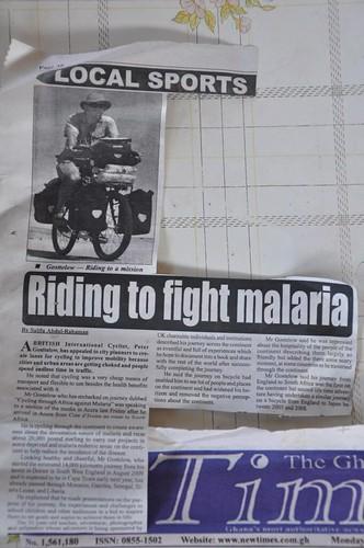 Ghana Times article