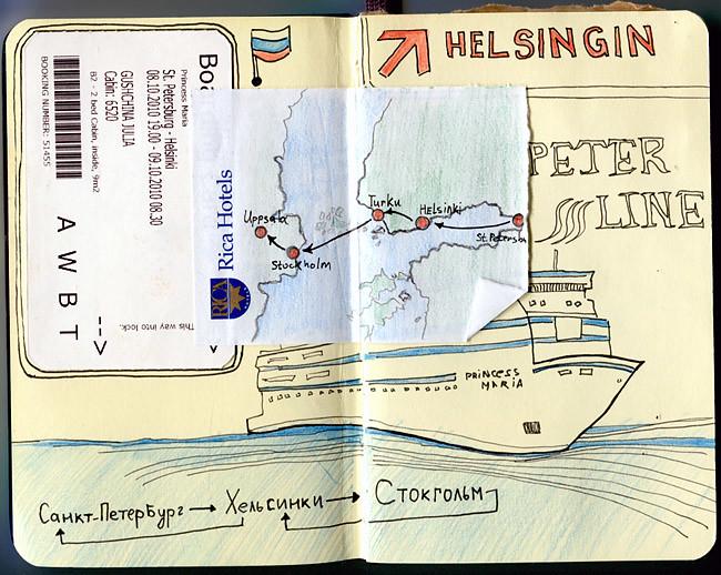 Дневник путешественника фото