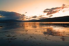 Loch Fyne (Tracy McCulloch) Tags: sky cloud sun reflection water sunrise landscape scotland argyll views loch drift inveraray lochfyne
