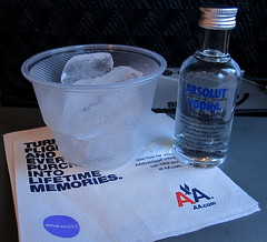 A little drink...;) () Tags: vacation holiday plane airplane fly dallas md shot sweden shots aircraft flight jet aerial vodka absolut boeing americanairlines rtw s80 aereo aa airliner vacanze avion roundtheworld amr 1879 absolutvodka weekendgetaway globetrotter mcdonnelldouglas areo md80 31000 americanway insidetheplane worldtraveler countryofsweden  31000feet interiorcabin littledrink inthecabin