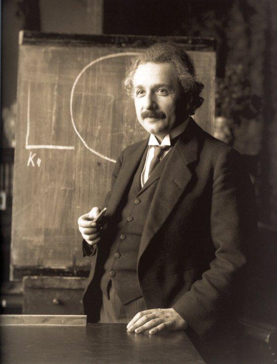 Einstein's lecture in Vienna