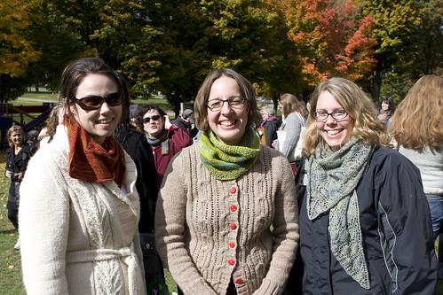 Amanda, Cheryl, Jenn