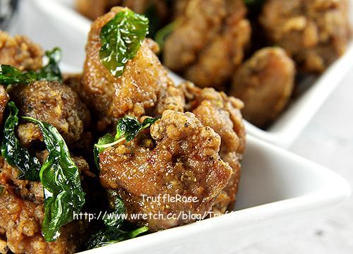 小聰明家庭煮婦。客家香香粉鹽酥雞-101019
