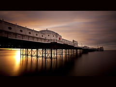 Sunrise over Brighton Pier (grafixen) Tags: longexposure sunrise brighton nd110