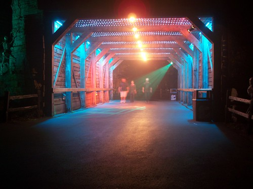 Cedar Point - The Fright Zone Tunnel