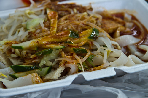 Xi'an food in Tomkins Square Park, NYC