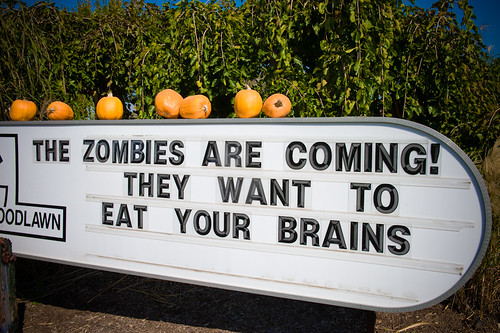 The zombies are coming!