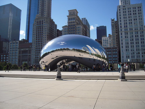 Cloud Gate, AKA The Bean