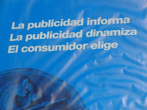 la publicidad informa, la publicidad dinamiza, el consumidor elige