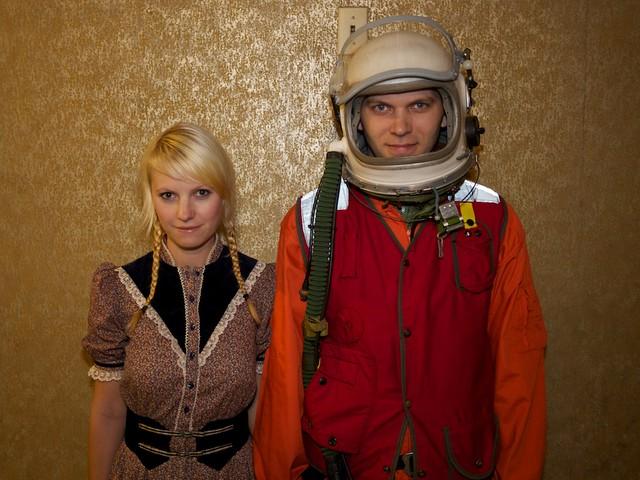 prairie girl & astronaut
