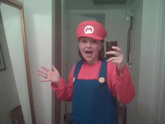 It's a-me! Mario!