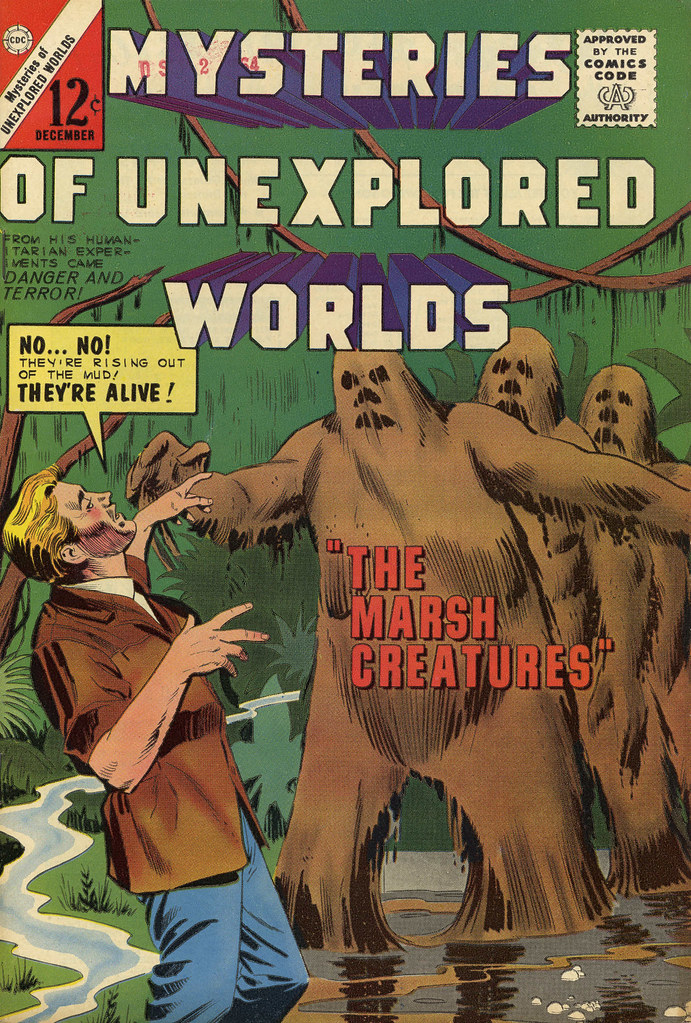 Mysteries of Unexplored Worlds #44 (Charlton, 1963)