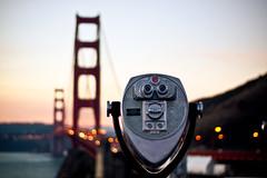This shot is courtesy of my body being on East Coast time (Jaime973) Tags: sunrise canon 50mm raw goldengatebridge sausalito gratitude awesomeviews crazycoloredsunrise whoneedssleepnotme