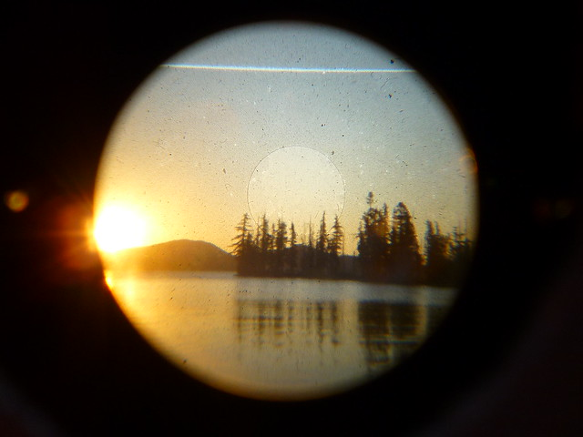 waldo lake sunset